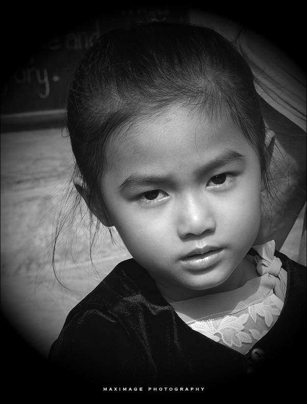 La petite fille de Hoi An...