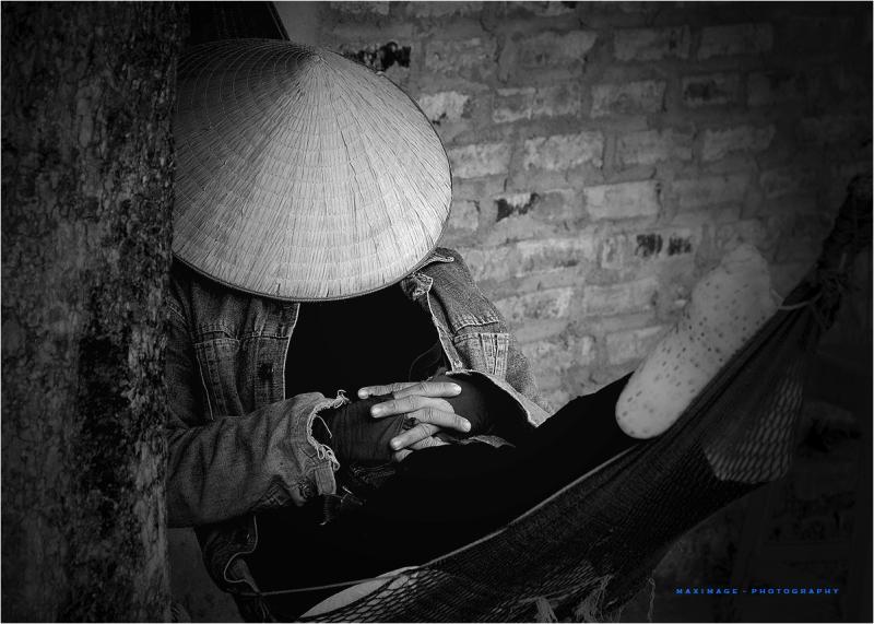 Sieste vietnamienne...