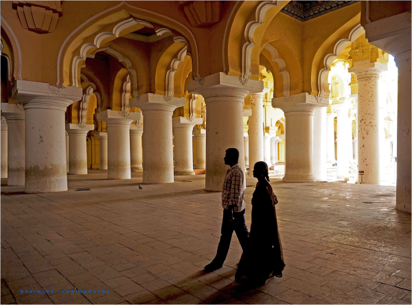 Ombre et lumière à Madurai...