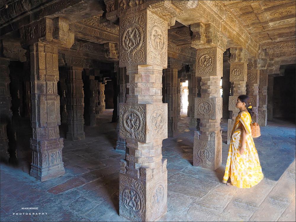 Une visite au temple...