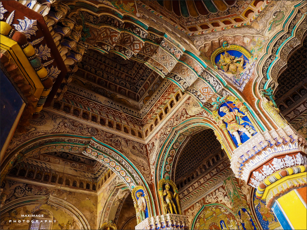 Saraswathi Mahal Library...