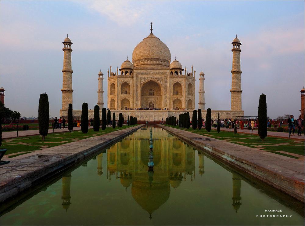 Le Taj Mahal...