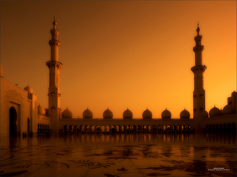 Cheikh Zayed Grand Mosque / Abu Dhabi