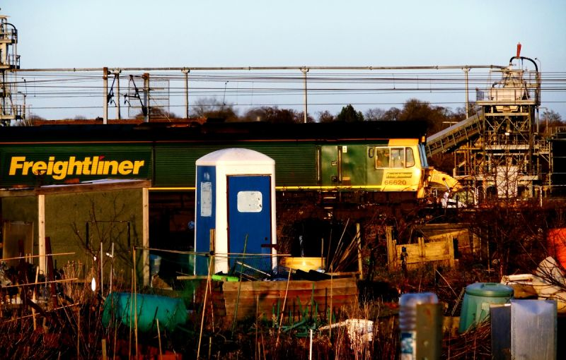 train passing allotments