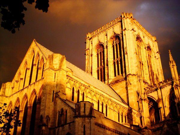 York Minster in the light of sunset