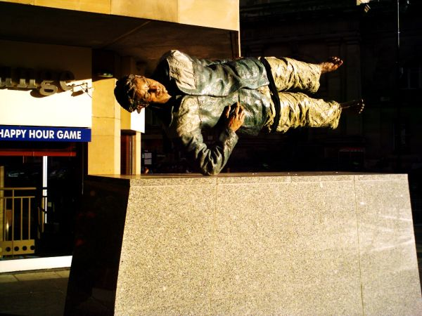 street sculpture in Newcastle