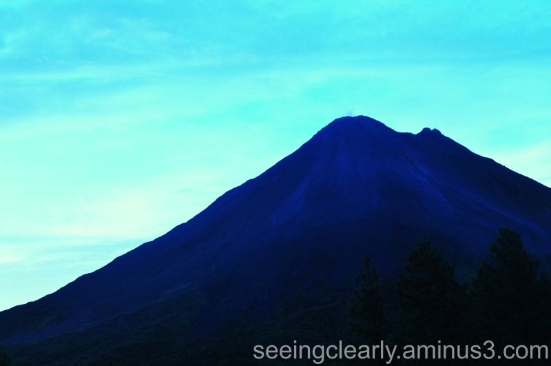 Volcan Arenal at Dusk