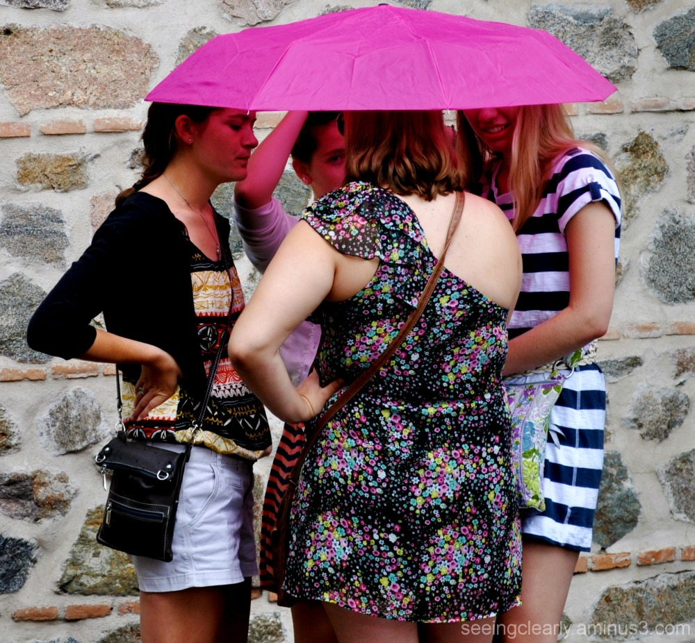 The Rain in Spain Falls Mainly on the... Tourists.