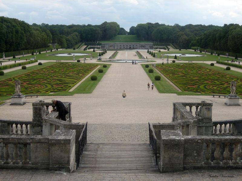 De tuin van Vaux - Le - Vicomte