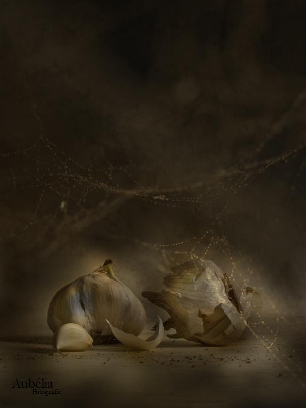 Still life with garlic