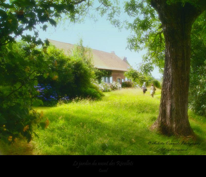 Le jardin du mont des Récolets (Wouwenberghof)