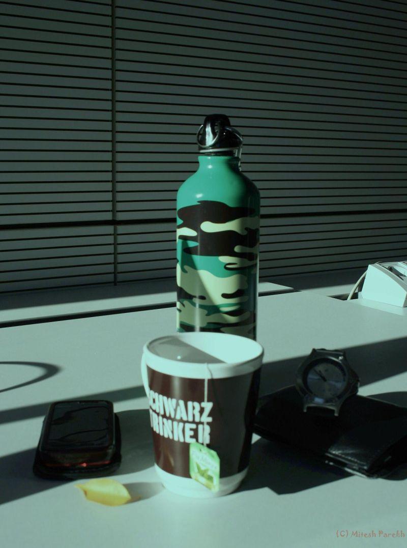 Things at my desk