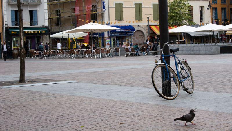 bicicleta i colom