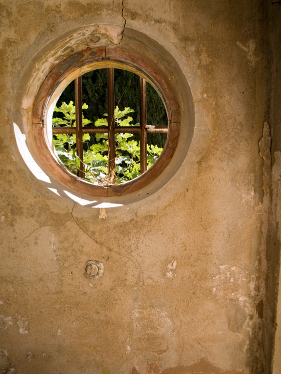 finestra rodona