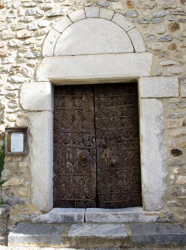 Porta de l'església de Sant Martí