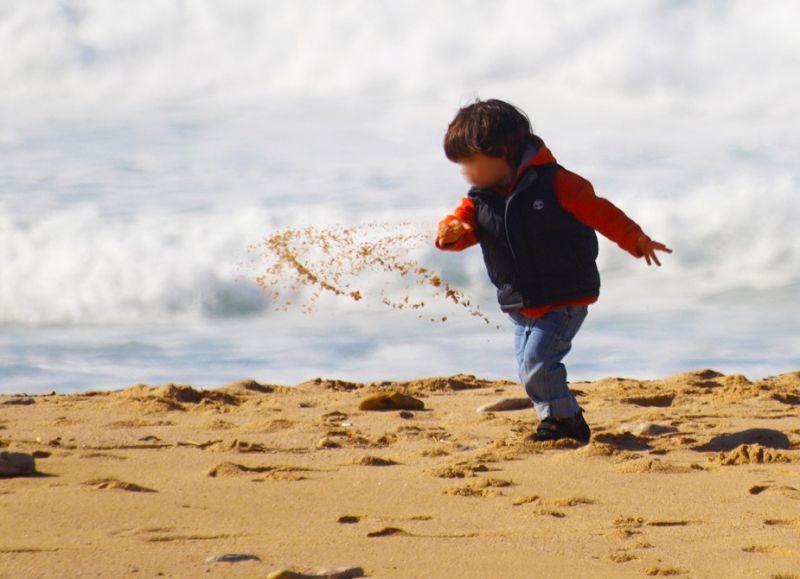 um punhado de areia...