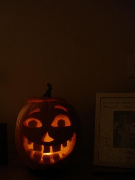 a really nice looking jack-o-lantern