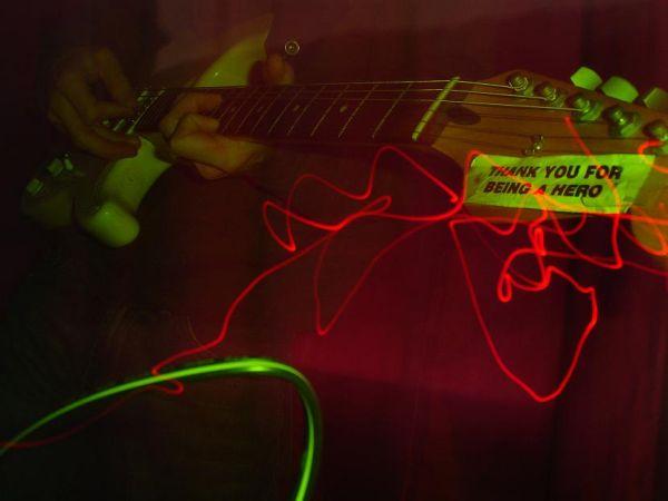 electric heroic art photo music guitar!