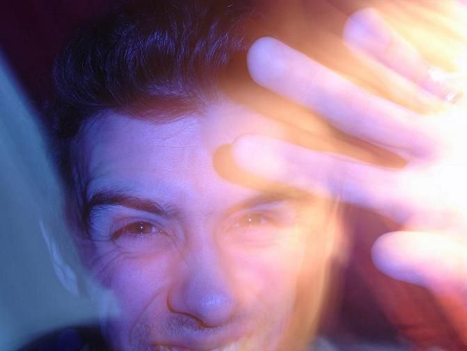 birthday portrait artsy light hand art photo !