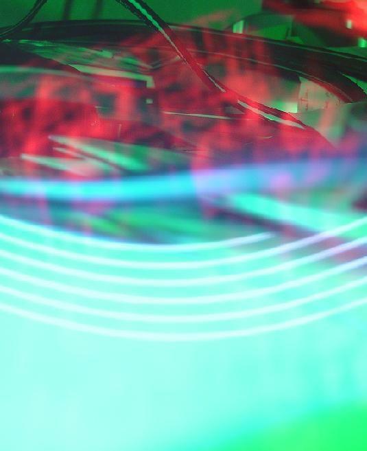 electric light green light artsy bright-light