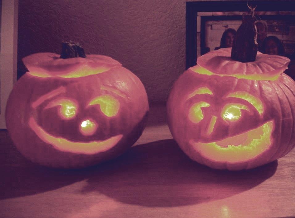 photo of pumpkin heads :-)