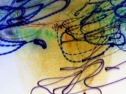 abstract light-written inverse photography