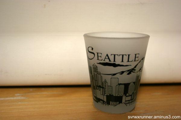 shot glass seattle washington space needle