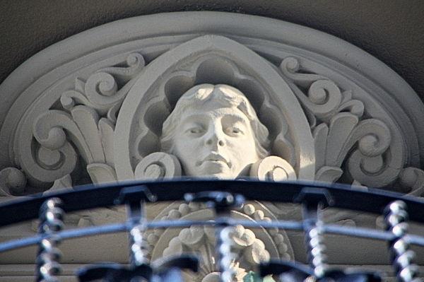 Detall Casa Manel Verdú. Barcelona