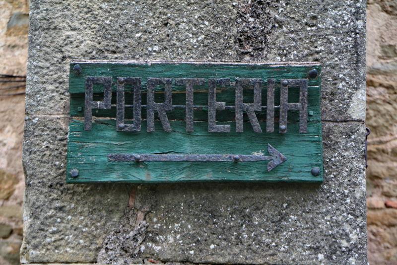 Porteria --->
