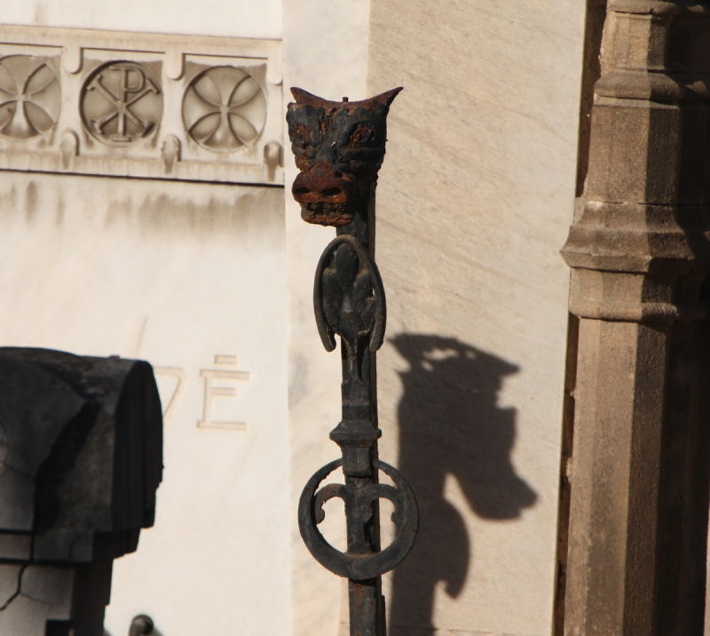 Detall cementiri de Montjuïc (2)