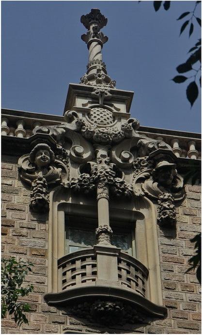 Barana teixida. Balcó (Railing woven, Balcony)