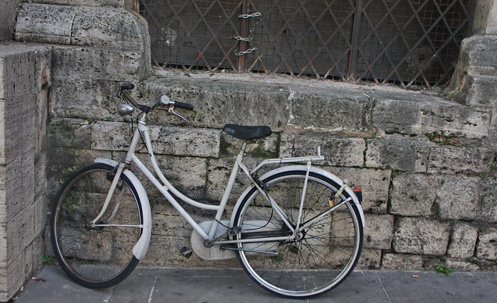 Bicicleta blanca