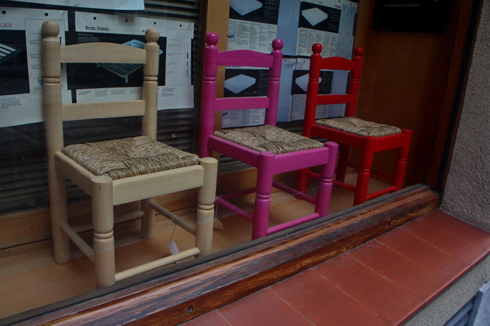 Tres cadiretes