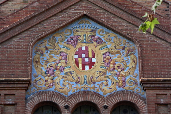Antic escut de Barcelona. (Mercat Galvany)
