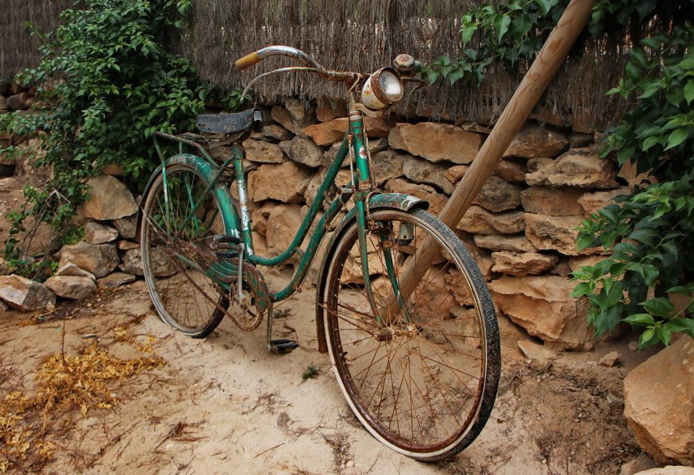 Una bici vella