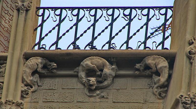 Barcelona singular #8 Casa Queraltó