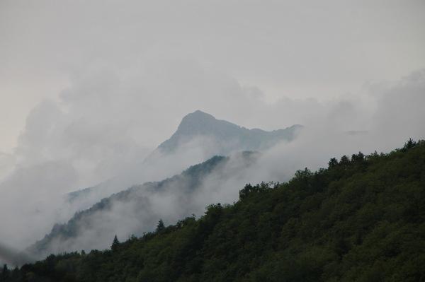 Boira al Montseny