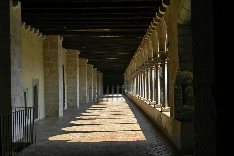 Monestir de Pedralbes #1 Pis superior claustre