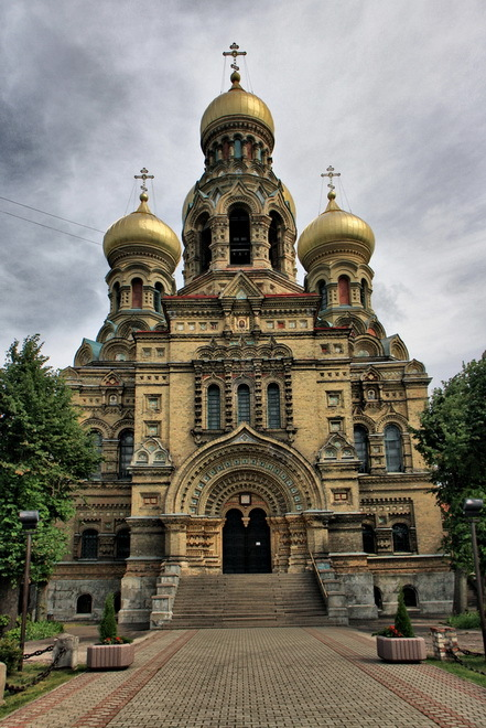 Sant Nicolau, Catedral Ortodoxa, Liepaja