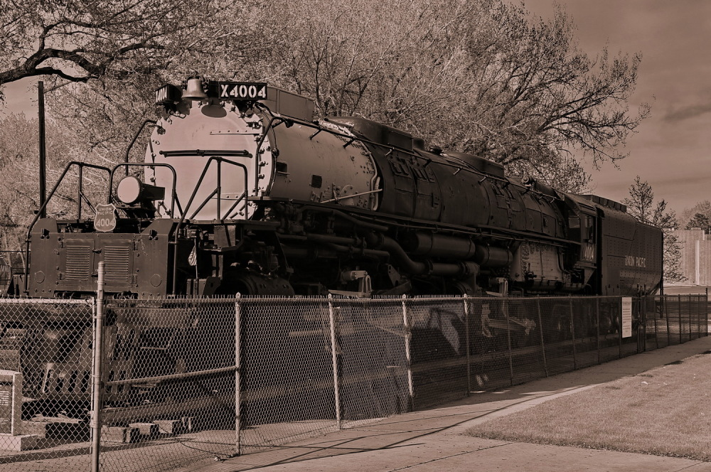 Big Boy. Union Pacific 4004