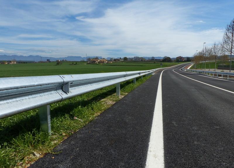 Carretera i valla