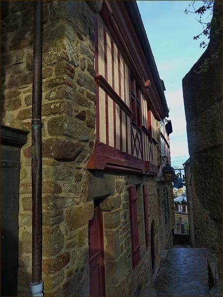 Dins el Mont Saint Michel (3)