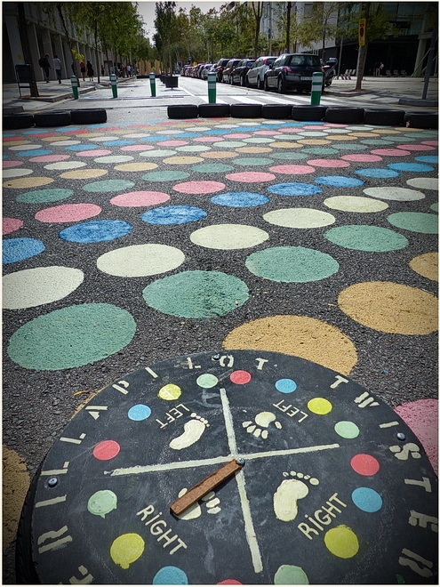 Twister in the street