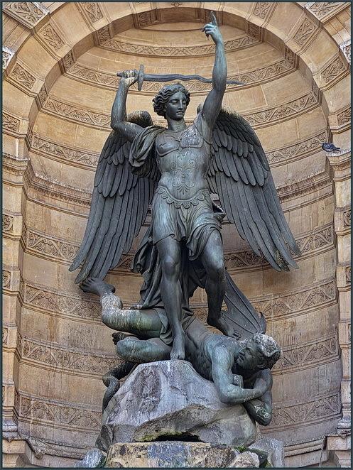 Sant Miquel i el Dimoni