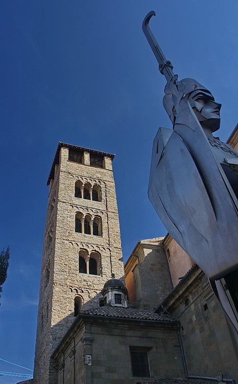 Campanar de la Catedral de Vic i Abad Oliba