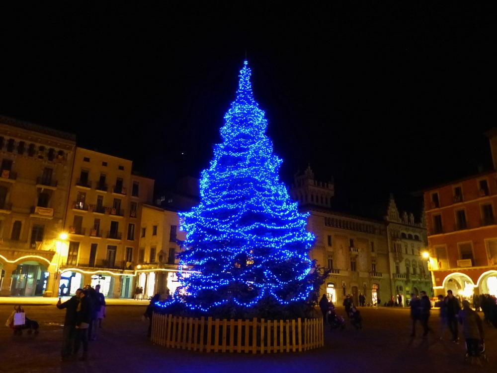 L'arbre de Plaça.  Bon Nadal #4