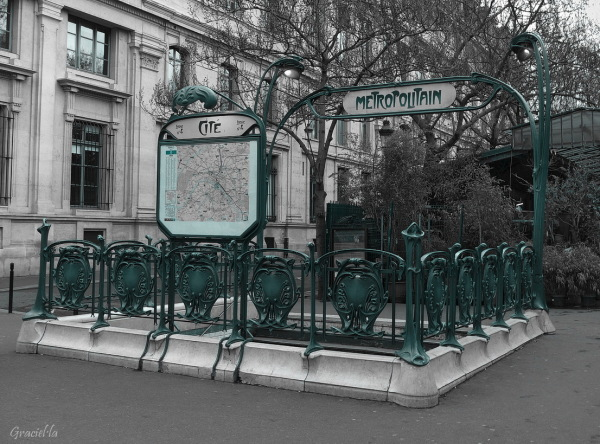 Metropolitain . Cité