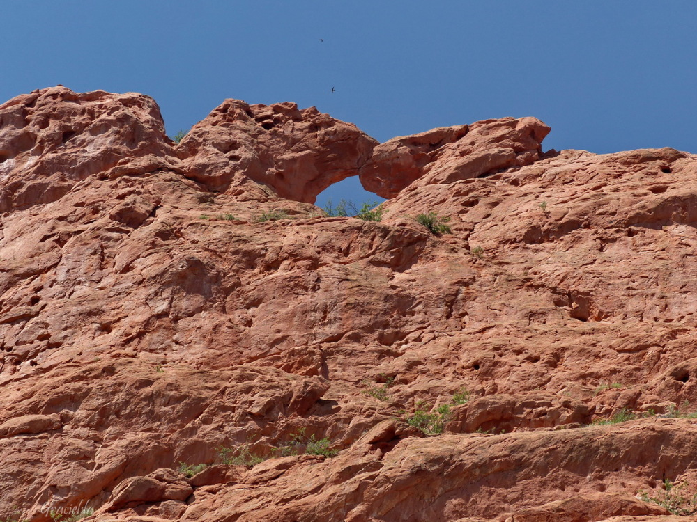 The Kissing Camels. Garden of the Gods
