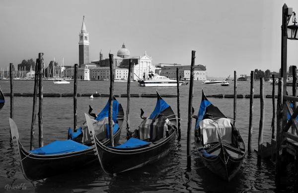 Venècia en blau