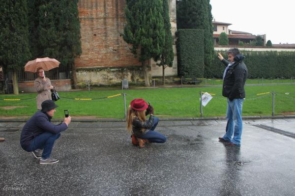 Turistes a ... Pisa
